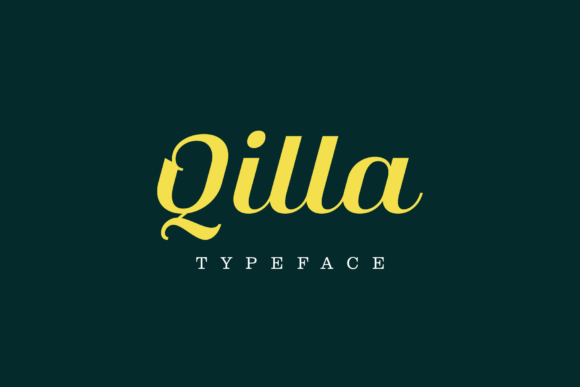Print on Demand: Qilla Script & Handwritten Font By herlannawwi