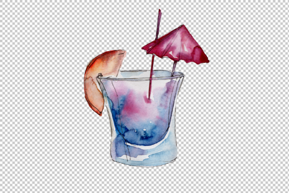 Download Free Refreshing Cocktails Watercolor Set Graphic By Mystocks for Cricut Explore, Silhouette and other cutting machines.