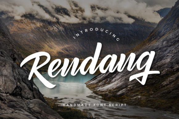 Print on Demand: Rendang Script & Handwritten Font By Micromove - Image 9