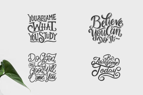 Download Free Motivational Quotes Bundle Graphic By Weape Design Creative SVG Cut Files
