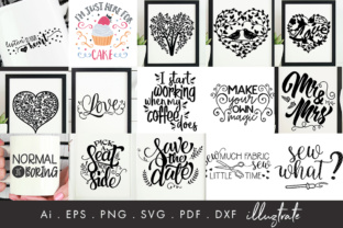 Print on Demand: 75 Quotes Bundle Graphic Crafts By illuztrate 4