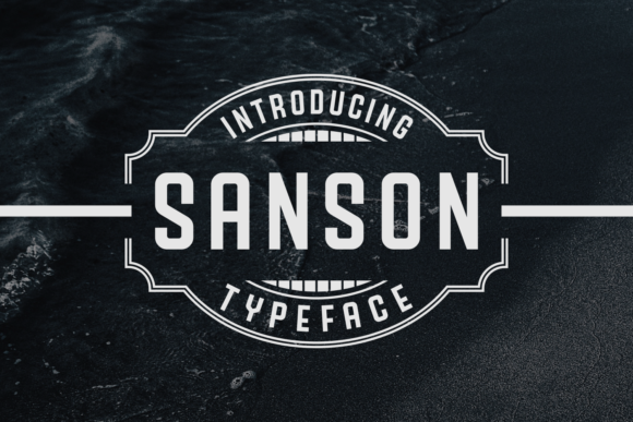 Print on Demand: Sanson Sans Serif Font By Situjuh