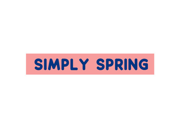 Scrapbooking Quote: Simply Spring Planner Craft Cut File By Creative Fabrica Crafts