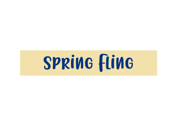 Scrapbooking Quote: Spring Fling Planner Craft Cut File By Creative Fabrica Crafts