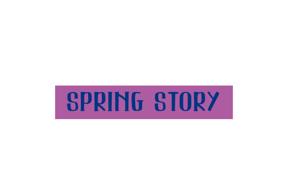 Scrapbooking Quote: Spring Story Planner Craft Cut File By Creative Fabrica Crafts