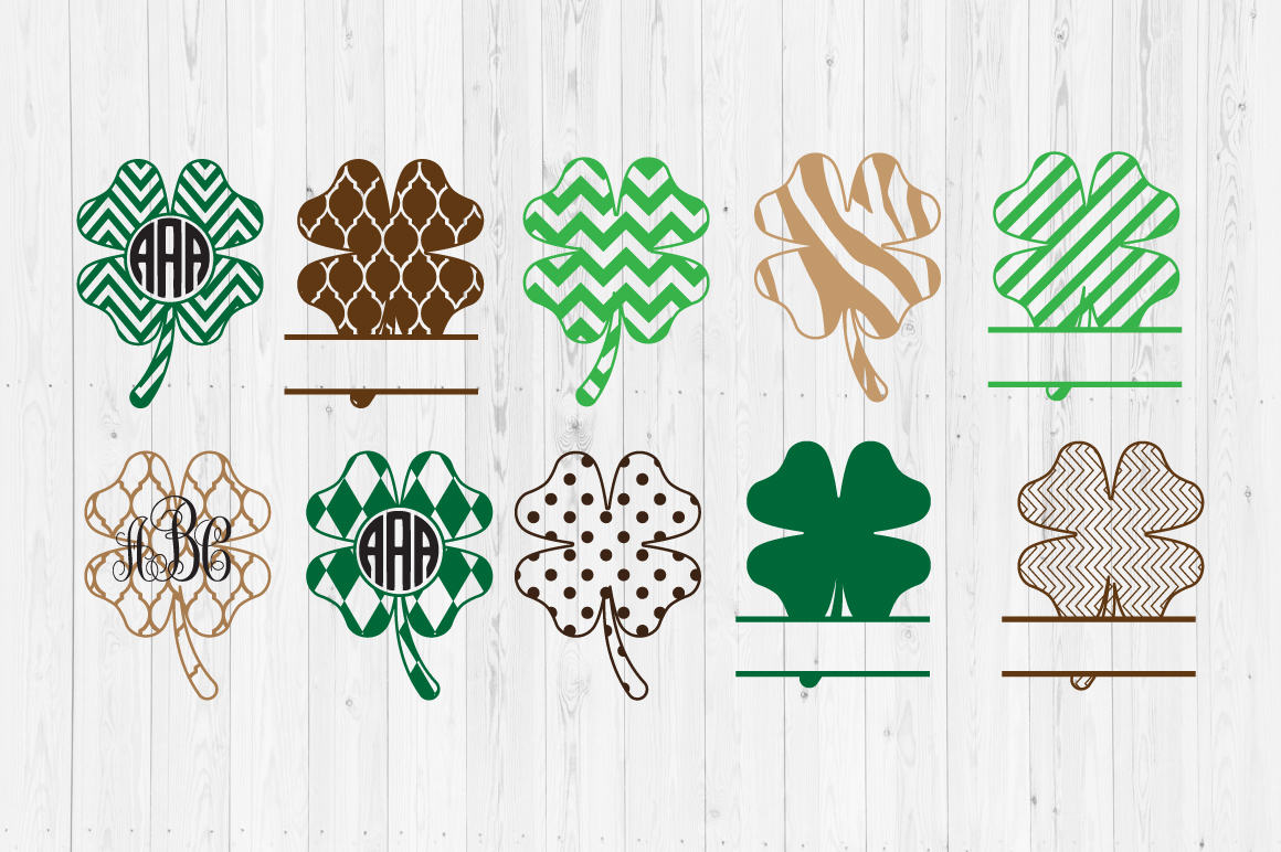 Download Free Shamrocks Files Graphic By Cutperfectstudio Creative Fabrica for Cricut Explore, Silhouette and other cutting machines.