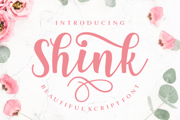 Print on Demand: Shink Script & Handwritten Font By Rifki (7ntypes)