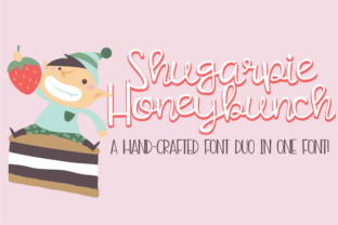Shugarpie Honeybunch Script & Handwritten Font By Illustration Ink
