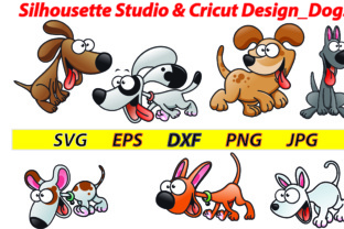 Silhousette Studio & Cricut Design_Dogs (SVG,DXF,PNG,EPS,JPG) Graphic By Best_Store