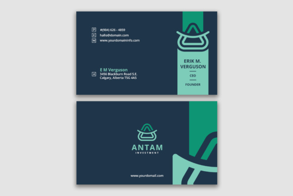 Smart Business Card Template Graphic Print Templates By Ndroadv