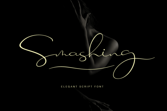 Print on Demand: Smashing Script & Handwritten Font By Pasha Larin
