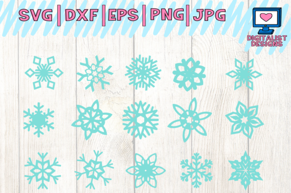 Download Free Snowflake Christmas Graphic By Digitalistdesigns Creative Fabrica for Cricut Explore, Silhouette and other cutting machines.