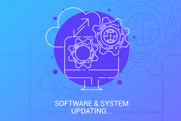 Software & System Updating Graphic By KitCreativeStudio