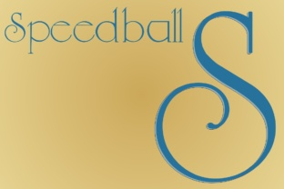 Speedball Display Font By Intellecta Design