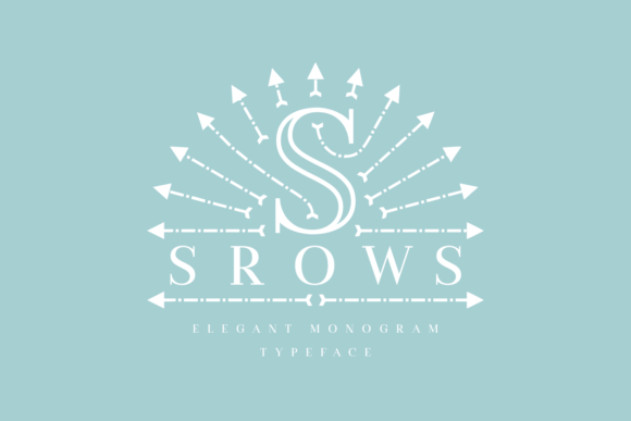 Print on Demand: Srows Display Font By Situjuh - Image 4