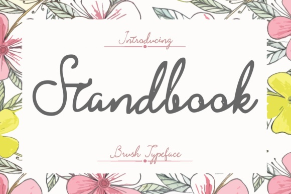 Print on Demand: Stand Book Script & Handwritten Font By BonjourType