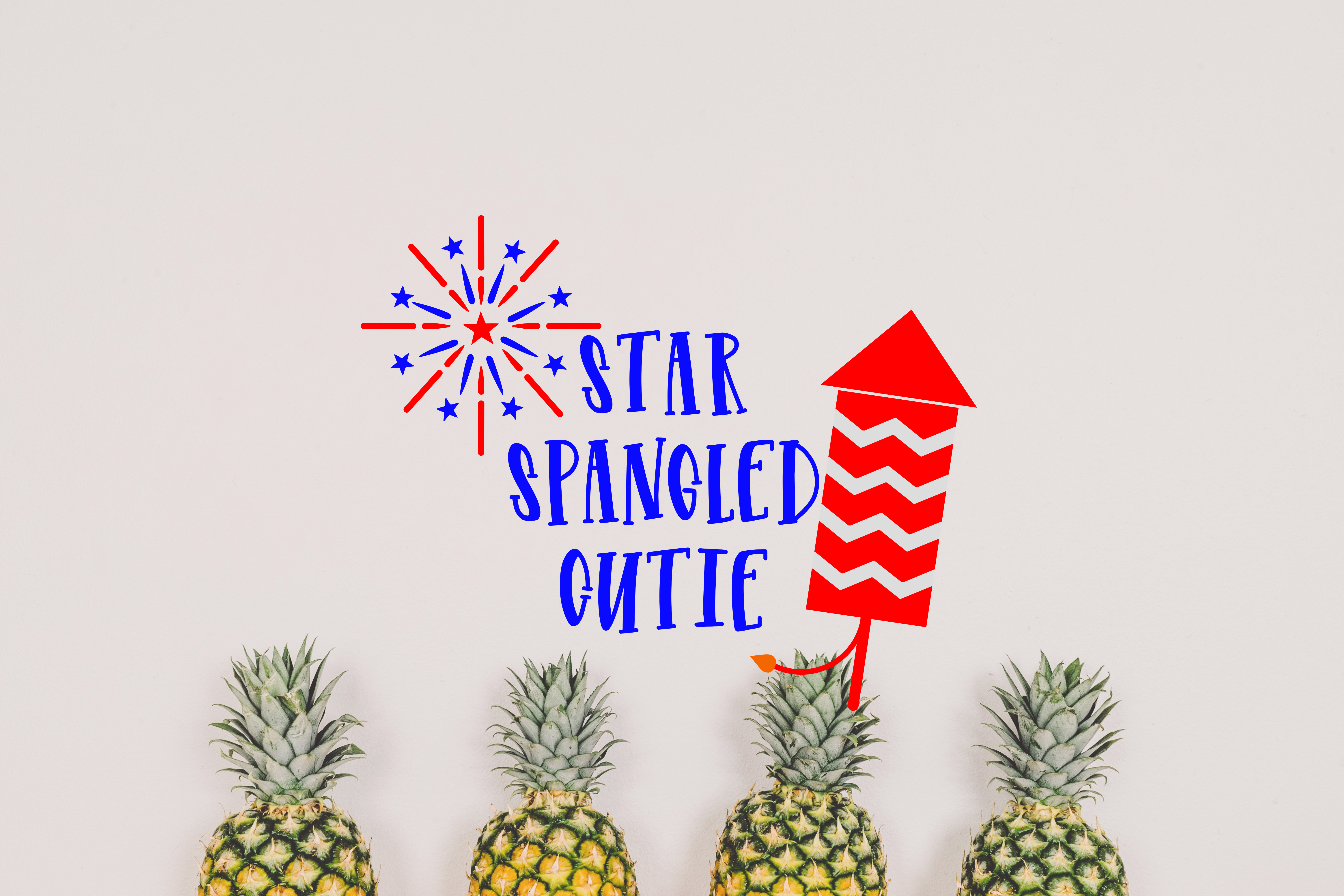 Download Free Star Spangled Cutie Svg Grafico Por Missseasonsvinylcuts for Cricut Explore, Silhouette and other cutting machines.