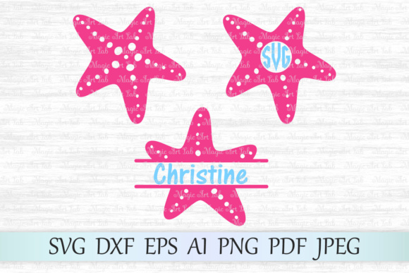 Download Free Starfish Graphic By Magicartlab Creative Fabrica for Cricut Explore, Silhouette and other cutting machines.