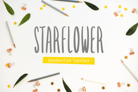 Print on Demand: Starflower Script & Handwritten Font By Shattered Notion - Image 1
