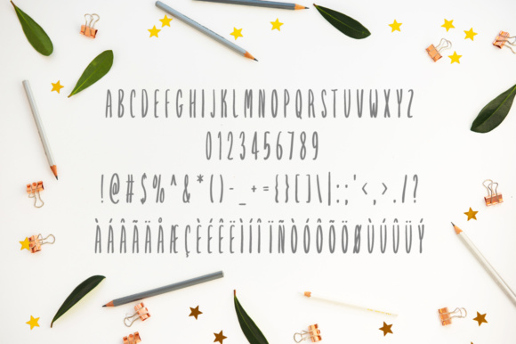Print on Demand: Starflower Script & Handwritten Font By Shattered Notion - Image 5