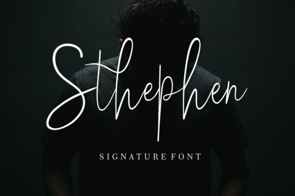 Print on Demand: Sthephen Script & Handwritten Font By supotype