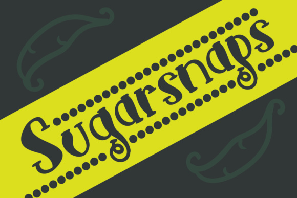 Print on Demand: Sugarsnaps Script & Handwritten Font By Lickable Pixels