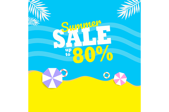 Summer Sale Background Gráfico Fondos Por indostudio