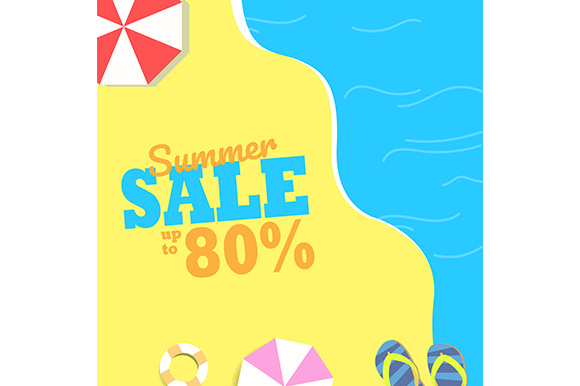 Summer Sale Background Grafik Hintegründe von indostudio