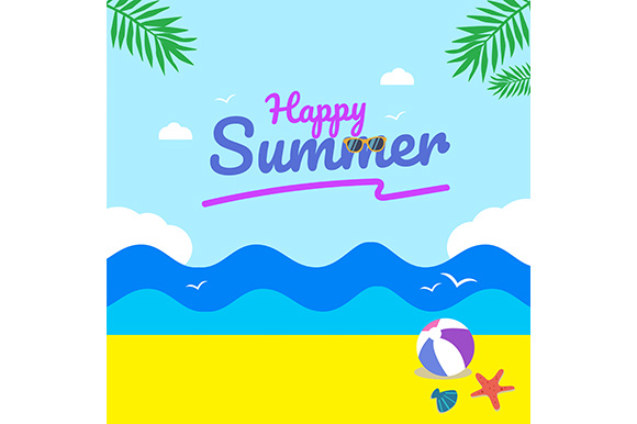 Summer Sale Background Graphic Backgrounds By indostudio