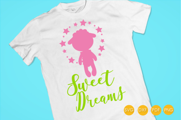 Sweet Pink Dreams Graphic Crafts By PrettyCuttables - Image 2