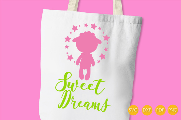 Sweet Pink Dreams Graphic Crafts By PrettyCuttables - Image 3
