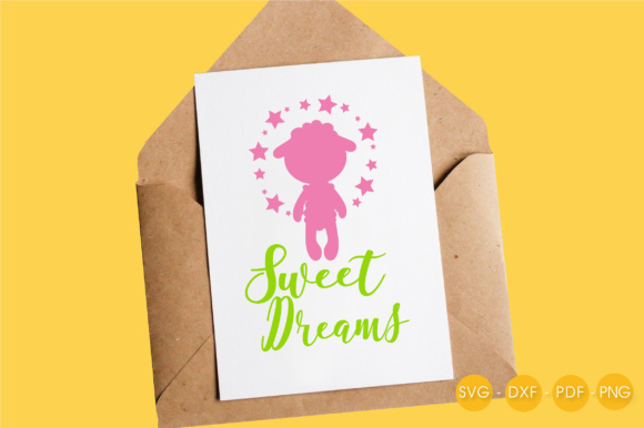 Sweet Pink Dreams Graphic Crafts By PrettyCuttables - Image 4
