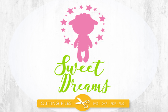 Sweet Pink Dreams Graphic Crafts By PrettyCuttables