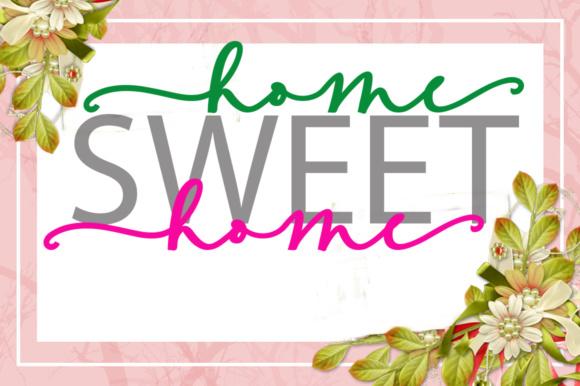 Sweete Girl Font By YanIndesign Image 3