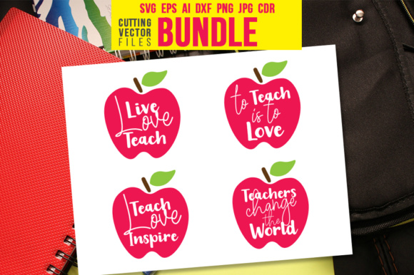 Teacher's Quote Bundle Graphic Crafts By danieladoychinovashop