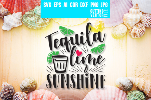 Tequila Lime & Sunshine Graphic Crafts By danieladoychinovashop