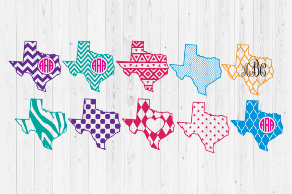 Texas Files Graphic Crafts By Cutperfectstudio