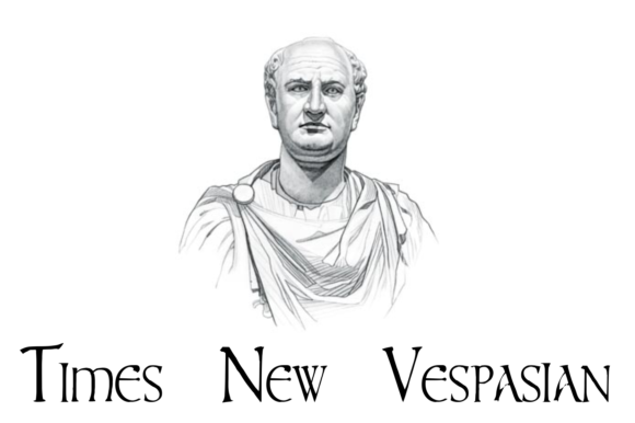 Print on Demand: Times New Vespasian Display Font By Intellecta Design