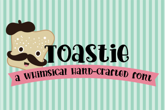 Print on Demand: Toastie Script & Handwritten Font By Illustration Ink