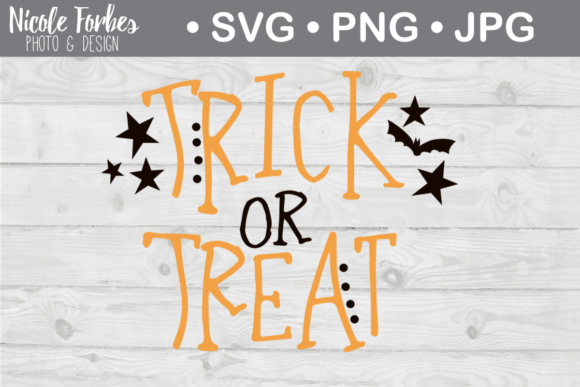 Download Free Trick Or Treat Svg Cut File Graphic By Nicole Forbes Designs for Cricut Explore, Silhouette and other cutting machines.