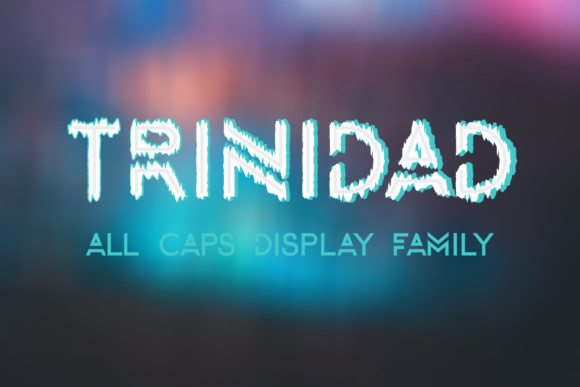Print on Demand: Trinidad Display Font By Etewut
