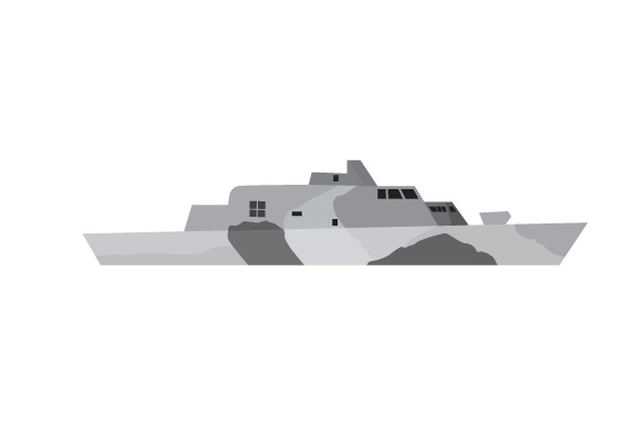 US Navy Ship Military Craft Cut File By Creative Fabrica Crafts
