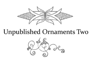 Print on Demand: Unpublished Ornaments Two Dingbats Font By Intellecta Design