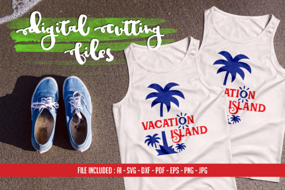 Vacation Island Graphic Crafts By Home Crafter Design.co