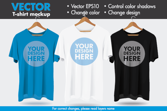 Vector Hanger Tshirt Mockup Template Graphic Product Mockups By Pedro Alexandre Teixeira