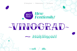 Vinograd Font By Creative Fabrica Freebies