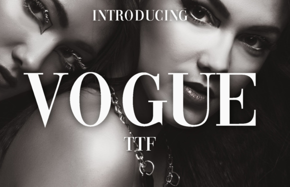 Print on Demand: Vogue Serif Font By vladimirnikolic