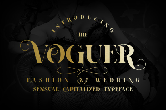 Print on Demand: Voguer Serif Font By NREY