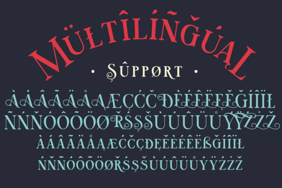 Print on Demand: Walpurgis Night Serif Font By NREY - Image 7