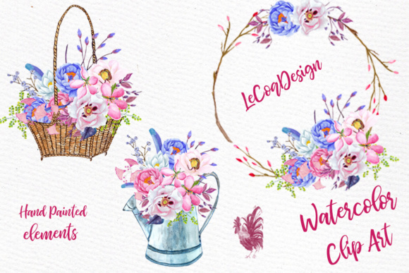 Watercolor flowers watercolor clipart spring flowers wedding clipart watercolor flowers watercolor clipart spring flowers wedding clipart floral clipart floral wreaths floral basket graphics mightylinksfo